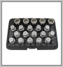 H.C.B-N2288 VOLVO WHEEL LOCK SCREW SOCKET KIT (20 PCS)