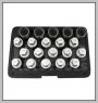 H.C.B-I2288 VAUXHALL/OPEL WHEEL LOCK SCREW SOCKET KIT (20 PCS)