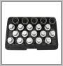 H.C.B-I2288 VAUXHALL/OPEL WHEEL LOCK SCREW SOCKET KIT (20 PCS)