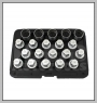 H.C.B-J2288 VAUXHALL/OPEL WHEEL LOCK SCREW SOCKET KIT (20 PCS)