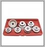 H.C.B-A2220  FILTER SOCKET MASTER KIT (7 PCS)