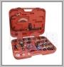H.C.B-C2210 RADIATOR PRESSURE TESTER & VACUUM-TYPE COOLING SYSTEM KIT (NYLON 66)(28 PCS)