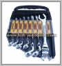 FLEXIBLE FLARE NUT COMBINATION WRENCH (7 PCS)