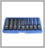 "H.C.B-A2229 Dr. 1/2"" DEEP STAR-E IMPACT SOCKET SET (9 PCS)"