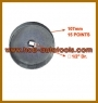 "VOLVO TRUCK OIL FILTER WRENCH (Dr. 1/2"", 15POINTS, 107mm)"