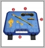 H.C.B-A1413 VW, AUDI ENGINE TIMING TOOL SET(1.4, 1.6 FSI)