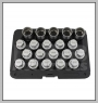 H.C.B-M2288 VOLVO WHEEL LOCK SCREW SOCKET KIT (20 PCS)