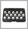 H.C.B-K2288 VAUXHALL/OPEL WHEEL LOCK SCREW SOCKET KIT (20 PCS)