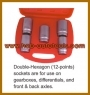 DRIVE SHAFT SPECIAL SOCKET SET (1/2
