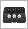 H.C.B-H2288 VAUXHALL/OPEL WHEEL LOCK SCREW SOCKET KIT (7 PCS)
