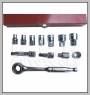 "H.C.B-A2023-1 13 PCS 3/8"" DRIVE GO-THRU SOCKET WRENCH KIT"