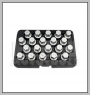H.C.B-D2288 PORSCHE WHEEL LOCK SCREW SOCKET KIT (20 PCS)