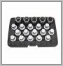 H.C.B-B2288 BMW WHEEL LOCK SCREW SOCKET SET (20PCS)