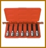 "7PCS 1/2""SQ. DR. TAMPER. TX-STARBIT SOCKET SET"
