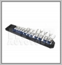 H.C.B-A2300 FLEXIBLE CROW'S FOOT SOCKET WRENCH SET (12 PCS)