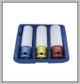 3 PCS  THIN WALL DEEP IMPACT SOCKET SET(Dr. 1/2
