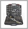 H.C.B-A6007 TAP & DIE TOOL KIT (MM) - 51 PCS
