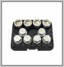 H.C.B-L2288 LAND ROVER WHEEL LOCK SCREW SOCKET KIT (10 PCS)