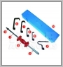 H.C.B-A3006 EXTRA LARGE BODY SHEET SLIDE HAMMER KIT